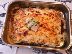 La cocina de Lola: Lasaña de verduras y bacalao
