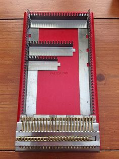 I finally own a Lightning Weaver. Is this the ultimate small loom? As the box decla… Crafts For Kids, Arts And Crafts, Weaving Tools, Visible Mending, Darning, Tapestry Weaving, Rug Hooking, Lightning, Loom