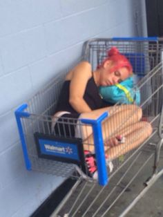 Does Walmart Evoke A Strange Narcolepsy In People Or When Its Finally Time To