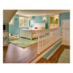 girls bedroom ❤ liked on Polyvore featuring house, bedrooms, home, rooms and backgrounds
