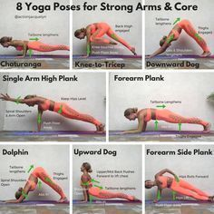 Use these powerful and effective yoga poses for your arm workouts. These 8 poses will sculpt, define, tone, and strengthen your entire upper body and core.