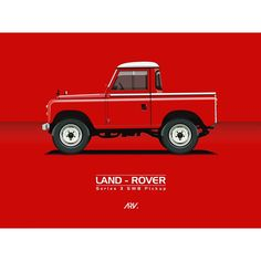 Land Rover 88 Serie III pickup advertisement