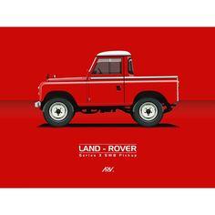 Land Rover 88 Serie III pickup advertisement