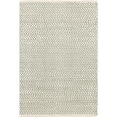 You asked, and we listened! Another terrific Dash & Albert lightweight woven cotton area rug, this time in a classic herringbone pattern.