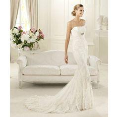Increíbles vestidos de novia 2013 Corte sirena