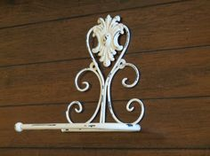 Amazon.com: Toilet Paper Holder / Creamy White or Pick Your Color / Shabby Chic Bathroom Accessories / Tissue Holder / TP Hanger / Cottage Chic Bathroom: Handmade