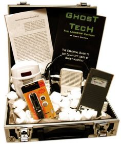 "Ghost Hunting Starter Kit - Includes everything you need to get starter in paranormal research: an GaussMaster EMF Meter, Motion Sensor, Infrared Pen Type Thermometer, EVP Listener, and carrying case. Also includes ""Ghost Tech"" whichs helps you get started."