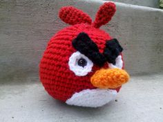 Crochet Angry Bird
