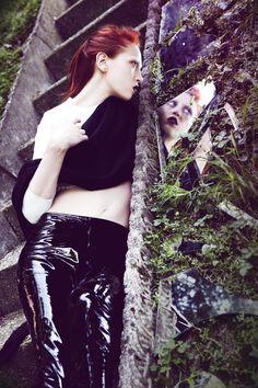 """REVS MAGAZINE""  Styling : Sarah Zuloeta Photo: Riccardo Bernardi Mua : Ania Melnikova"