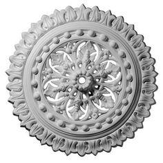 Ekena Millwork 18-1/2 in. Sellek Ceiling Medallion-CM18SK - The Home Depot