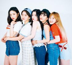 """Red Velvet is a South Korean girl group formed by SM Entertainment. The group debuted on August with the digital single """"Happiness"""" and four group members: Irene, Seulgi, Wendy and Joy. Red Velvet Joy, Red Velvet Irene, Black Velvet, Red Velvet Wendy, Seulgi, Kpop Girl Groups, Korean Girl Groups, Kpop Girls, Velvet Wallpaper"""