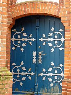 Wustrow, Germany - Door