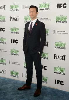 Joseph Gordon-Levitt at the 2014 Film Independent Spirit Awards