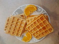 This comes from the Red Lion B&B website. These can be made OAMC. Just make the waffles then flash freeze them (individually) before putting them in ziplock bags. Label and date. To reheat, put in the toaster or microwave. Breakfast Waffles, Pancakes And Waffles, Breakfast Recipes, Waffle Maker Recipes, Dutch Oven Recipes, True Food, Oranges And Lemons, Brunch, Waffles