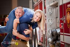 firefighter engagement photos - Google Search
