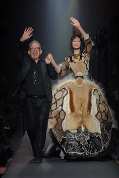 Коллекция Jean Paul Gaultier Couture осень 2015