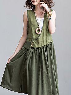 Блузко-платье (два варианта) / Блузки / ВТОРАЯ УЛИЦА