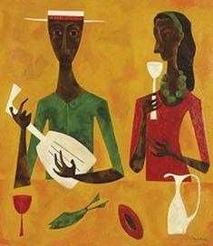 Cundo Bermudez, cuban painter.
