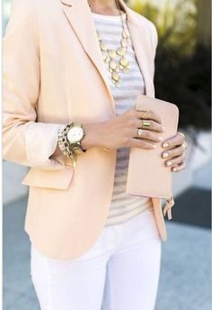 Summer Business Casual | white pants 44 professional and sophisticated office outfits you will love 261