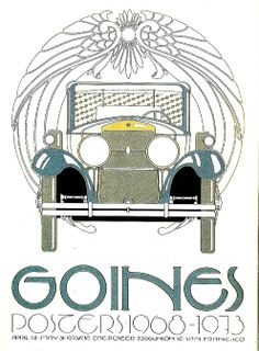 David Lance Goines   Also in our living room #symmetrical.  I have this poster! :)