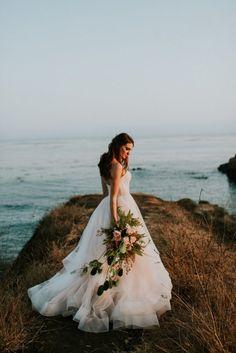 This California Wedding at Cass House Cayucos is Pure Coastal Elegance   Junebug Weddings