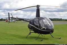 The Robinson R22 is a two-bladed, single-engine light utility helicopter manufactured by Robinson Helicopter. The two-seat R22 was designed in 1973 by Frank Robinson and has been in production since 1979.