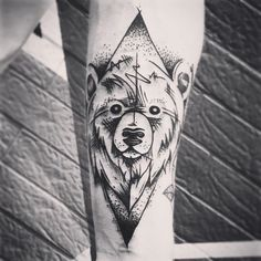 - Bear - https://www.facebook.com/JersTattoos/ #Jers #JersTattoos #tats #tattoo #tattoos #tattooed #tätowiert #tattoogirl #ink #inked #inker #instaart #inkedgirl #inkedskin #art #instaart #blackandgrey #lining #osna #osnabrück #filigraaaanbitcheees #erstdenkendannstechen #beartattoo