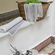 Payas Turkish cotton towel  Oyster/dark gray