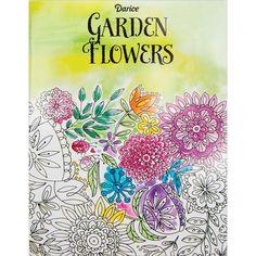 Darice Coloring Book Flower