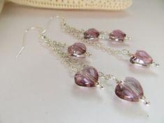 Swarovski Crystal earrings Swarovski earrings by Inspiredby10