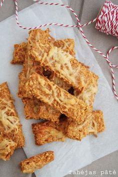 Fahéjas Pâté: Zabpelyhes sajtos rudak