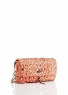 97a85fc3a7 Vanitas Shoulder Bag with Studs Versace Purses