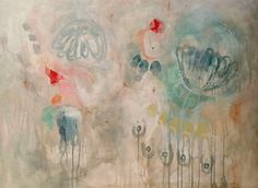 Original mixed media painting on stretched  por VictoriAtelier, $290.00