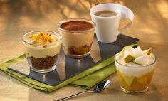 Recette Café gourmand cappuccino, pomme et cannelle : http://www.ilgustoitaliano.fr/recette/cafe-gourmand-cappuccino-pomme-et-cannelle
