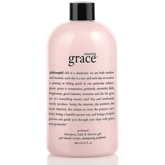 Philosophy Amazing Grace Shower Gel 16Oz ($25) ❤ liked on Polyvore featuring beauty products, bath & body products, body cleansers, beauty, filler, no color and philosophy perfume