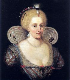 Anne of Denmark, Queen of James I of England and Scotland - kings-and-queens Photo