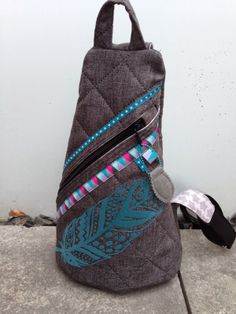 Meine neue Crossbag von der Taschenspieler CDII von Farbenmix.