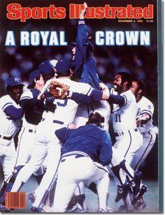 November 4, 1985 - The 1985 World Series.