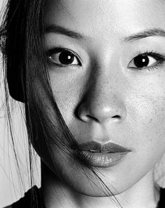 Lucy Liu. I think she's adorable. Love the characters she plays.