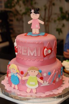 Doll Party Cake