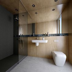 HINTON architect Australia _bathroom on Behance