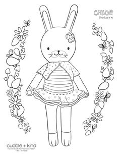 Coloring Sheets For Kids, Printable Coloring Sheets, Coloring Pages For Kids, Coloring Books, Colouring Sheets, Cute Kids Crafts, Easter Crafts, Childrens Artwork, Free Printable Art