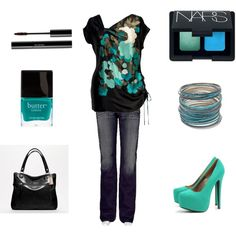 Untitled #21 by chelseawate on Polyvore featuring Chesca, Big Star, AX Paris, Coach, Amrita Singh, NARS Cosmetics, shu uemura and Butter London