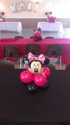 Miinnie mouse centerpieces