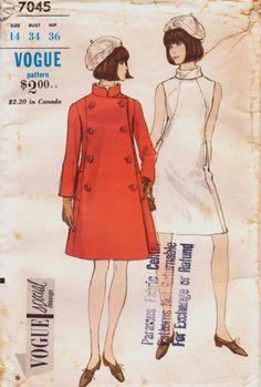 1960's Coat Pattern
