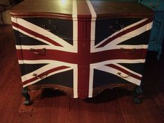 Variety of French Provincial Waving Union Jack Dressers / Buffet  While these exact pieces sold we can similarly styled pieces. Just send us a note if you are interested. Costs may vary depending on the purchase piece of the original, as well, the intricacy of the piece (i.e. the 12 drawer dressers are priced higher than the standard 6 drawer dressers).  Images 1 and 2 are the same piece. Images 3 and 4 are of another piece. And the last image is yet another piece.  We can ship to anywhe...
