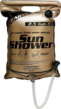 Stearns® Outdoors Sun Shower : Cabela's...nice to have if you camp at a site with no facilities. Normal people can just skip their shower for a day or two..I'm so oily skinned that would feel like I skipped two weeks!