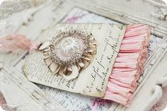 smaller paper tag as embellishment