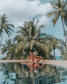 Julie Sariñana and Sara Escuedo in Phuket, Thailand