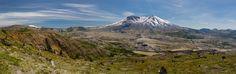 Mount St. Helens - Panorama from Johnston Ridge Hwy 504